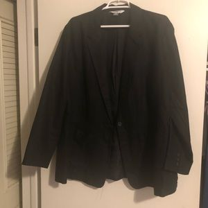 Never Worn Old Navy Black Linen Blend Blazer